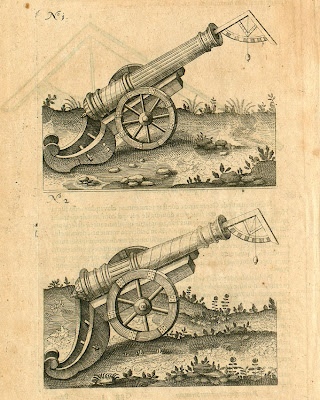 Fludd - Pars VI Liber Quartus p426 cannons
