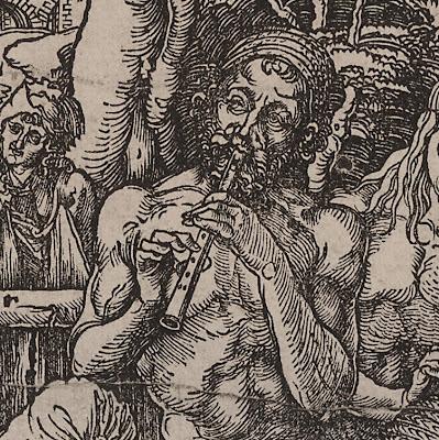 Dürer's 'Das Mannerbad' (detail)