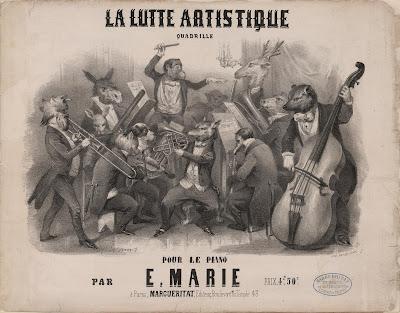 Jules Worms - 'La Lutte Artistique'. Quadrille