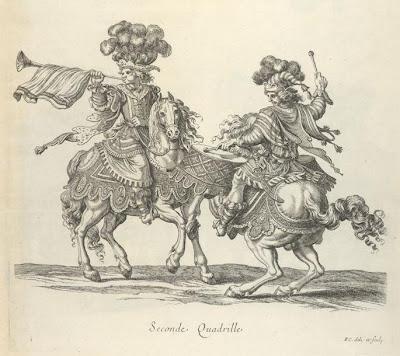 Timbalier et trompette persans