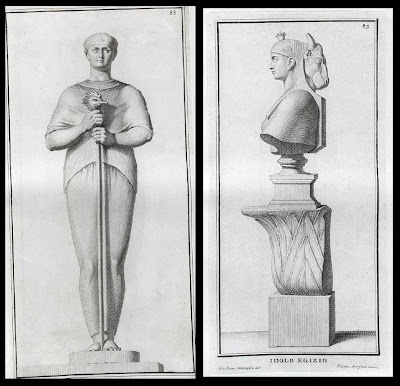 Sacerdote Egizio and Idole Egizio