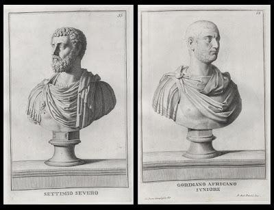 Settimio Severo and Giordano Africano Ivniore