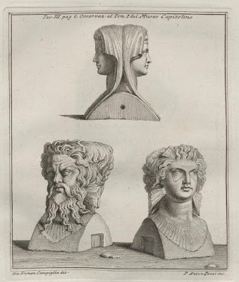 Part-sculpted busts