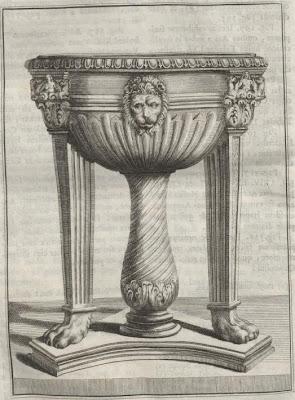 vessel on legs