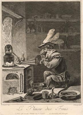 Alchemy satire - Le Plaisir des Fous