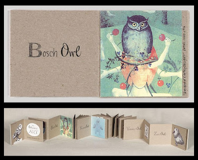 The Owl-phabet of Art : book artist