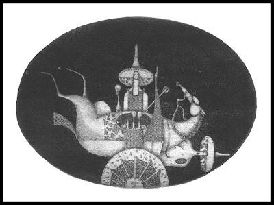 Aleksandr Aksinin etching