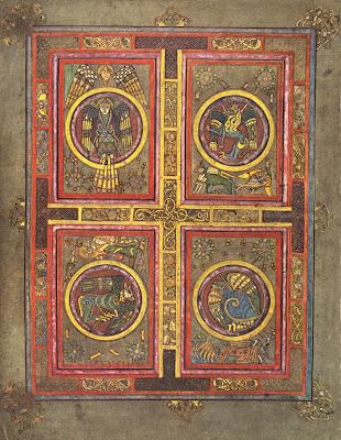 Book of Kells - manuscript page
