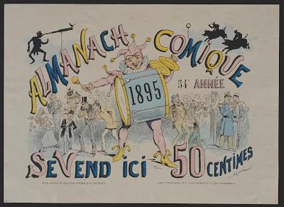 poster - Almanach comique