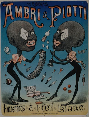 french poster - Ambri et Piotti, Hottentot à l'oeil blanc