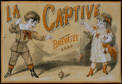 La Captive - Fin de Siecle theatre poster