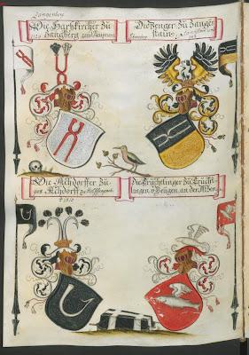 heraldic escutcheons