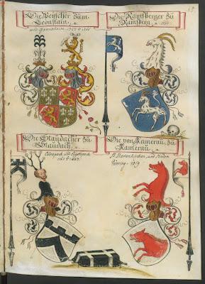 wappenbuch escutcheons