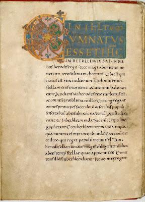 Codex Gero carolingian script