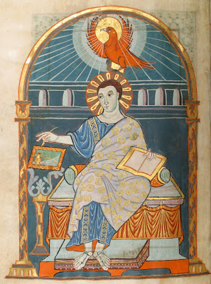 10th century illuminated gospel manuscript