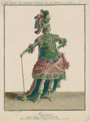 African dance costume