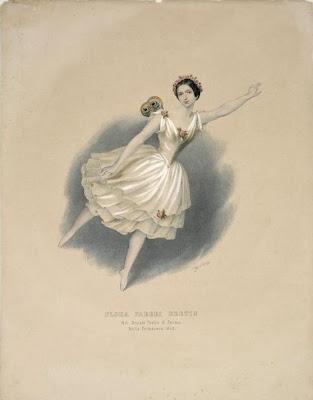 Flora Fabbri Bretin - Italian Dance Print