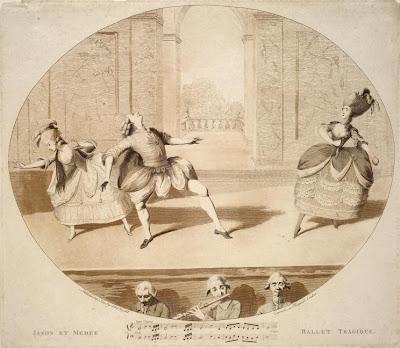 Jason et Médée, Ballet tragique