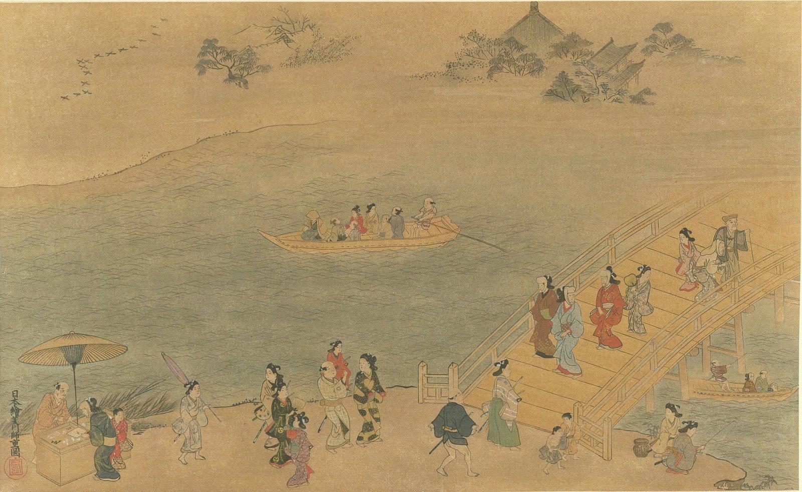 [Ryogoku+Bridge+by+Moroshige+Hishikawa+painting+on+silk+0176-lg.jpg]