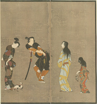 Hikone Screen - Ukiyoe