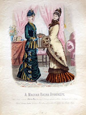 2 women - Hungarian Fashion Plate