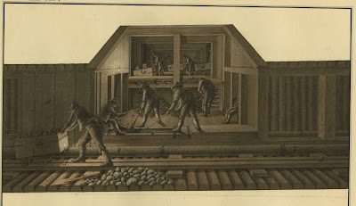 miners underground in Hungary