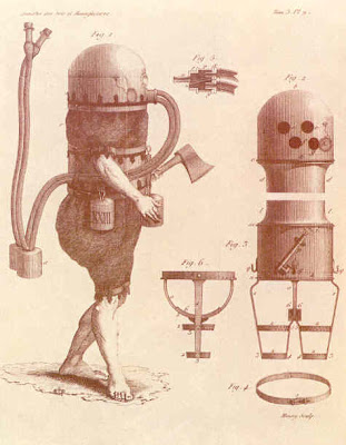 The first diving suit