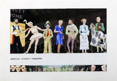 argyle street theatre - wwii sketch