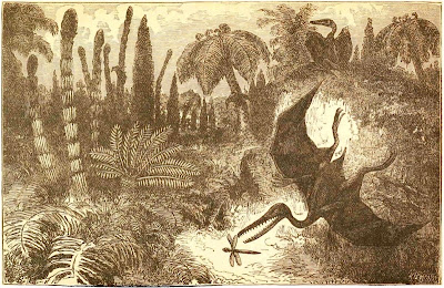 Landscape of the Liassic Period