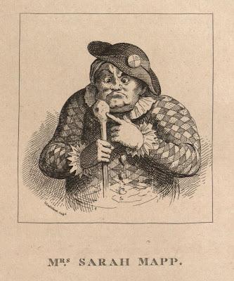 Sarah Mapp engraved portrait