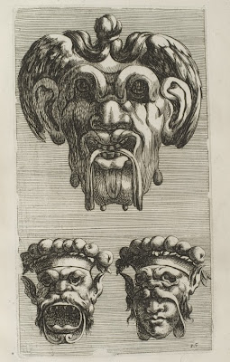 3 grotesque face designs