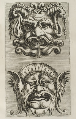 ornamental grotesque faces