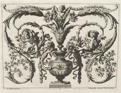 Le Pautre - 17th cent. ornamental design