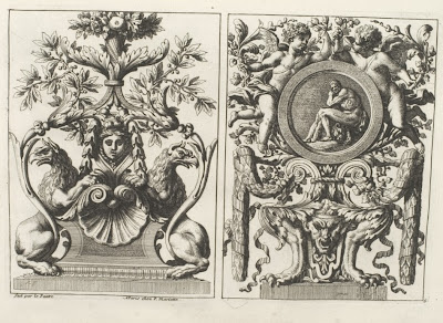 17th cent. french ornamental motifs