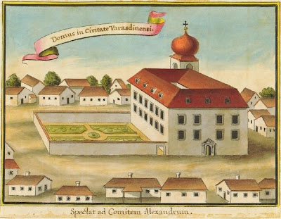 Varasdinensi estate in Croatia 1740