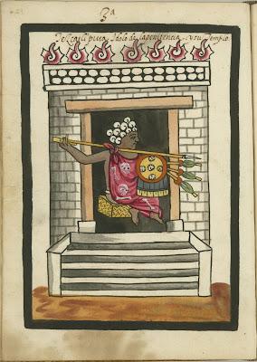 Tezxatlipuca ydolo de la penitencia y su templo