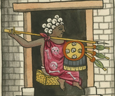 Tezxatlipuca ydolo de la penitencia y su templo detail