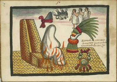 Otro modo de enterrar los muertos, quemandolos y enterrando las senizas