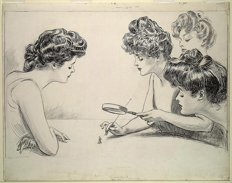 Charles Dana Gibson - 1903 - The Weaker Sex