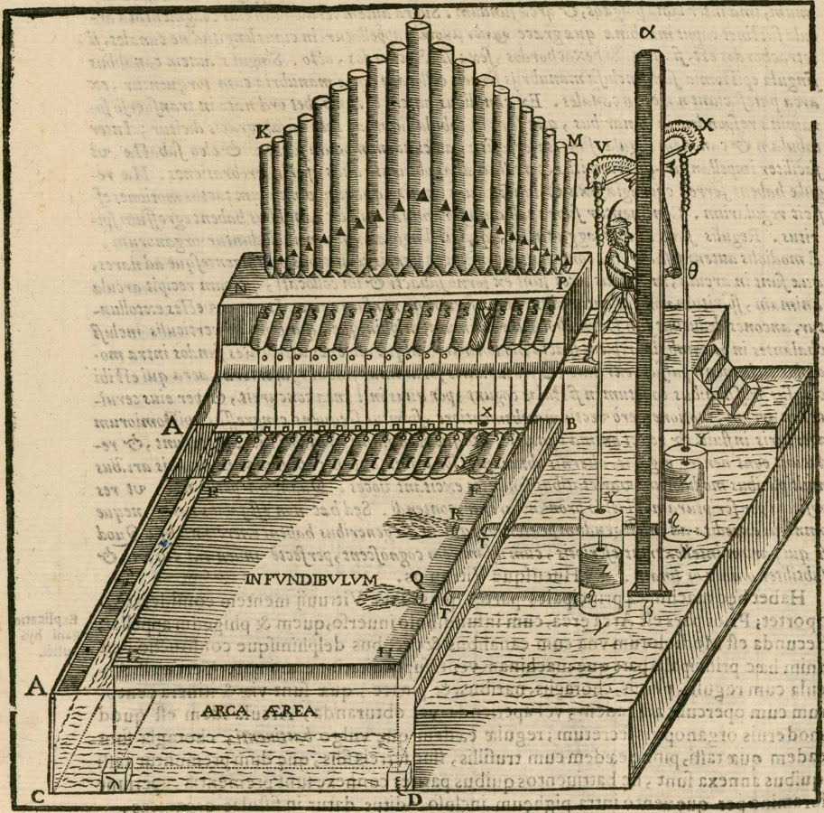 hydropneumatic organ