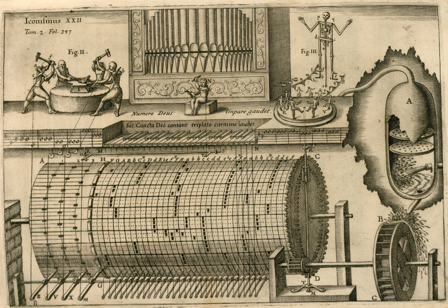 automatic hydraulic organ