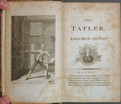 The Tatler frontispiece - Volume the Second