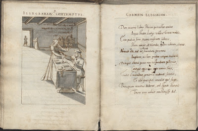 Polish 16th cent sketch album - Illecebrar Contemptus