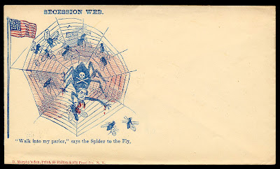 Secession Web - civil war caricature
