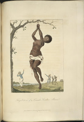 Flagellation of a Female Samboe Slave
