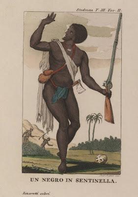 Un Negro in Sentinella