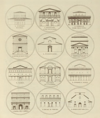 Roman building sketches