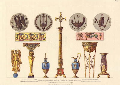 vase and frieze designs