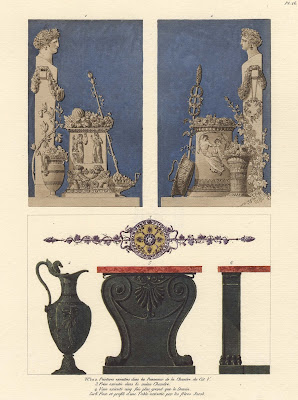 painting, frieze and vase designs