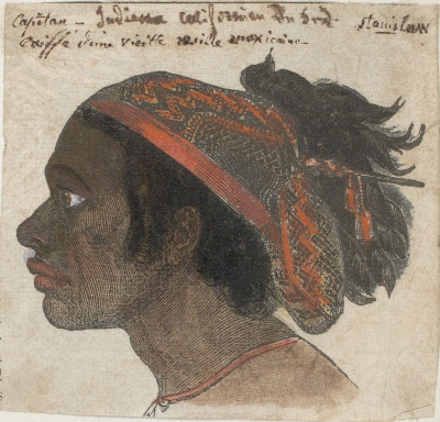 male Native American head
